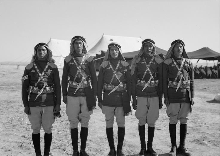 beduins 1 in british army