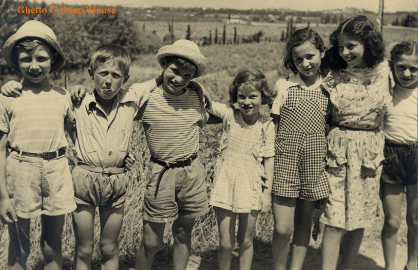 lena kids in shiller 1950