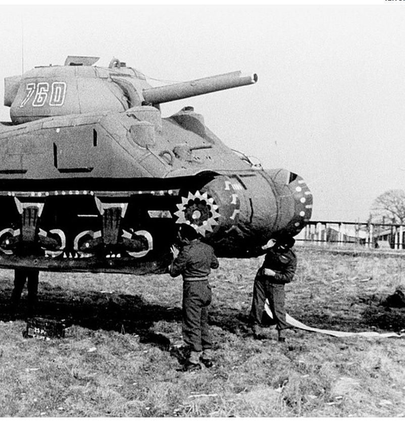 sherman tank deme