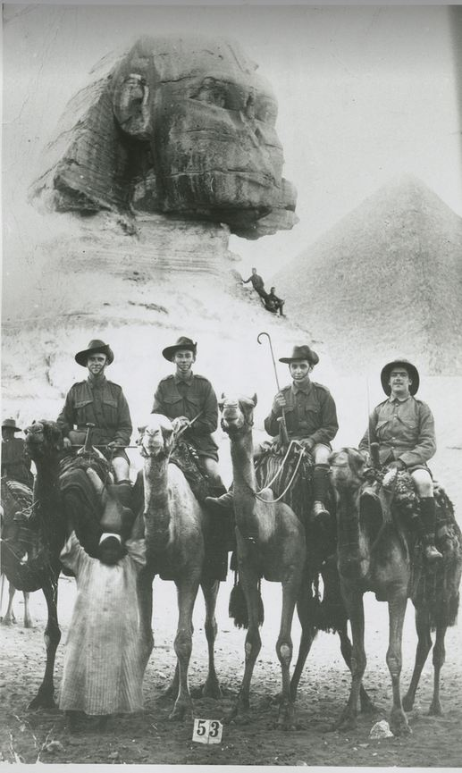 austrlian soldiers in egypt 1