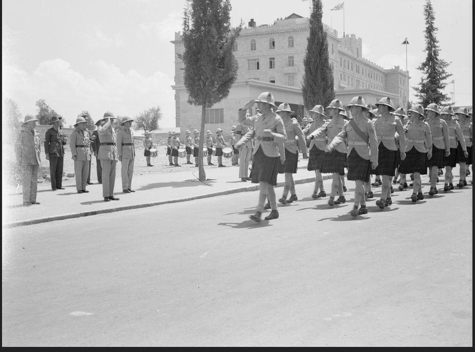 jeusalem 1940 anzak day