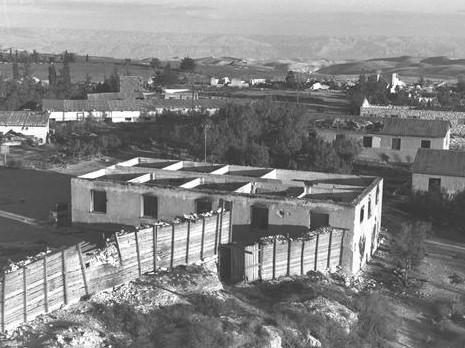 ramat rachel in may 1948