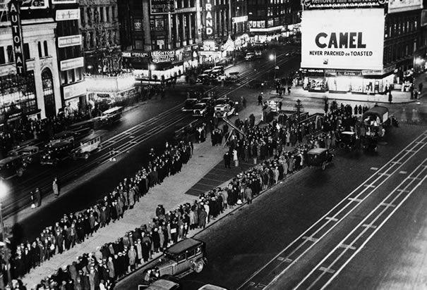 Times Square Breadline.
