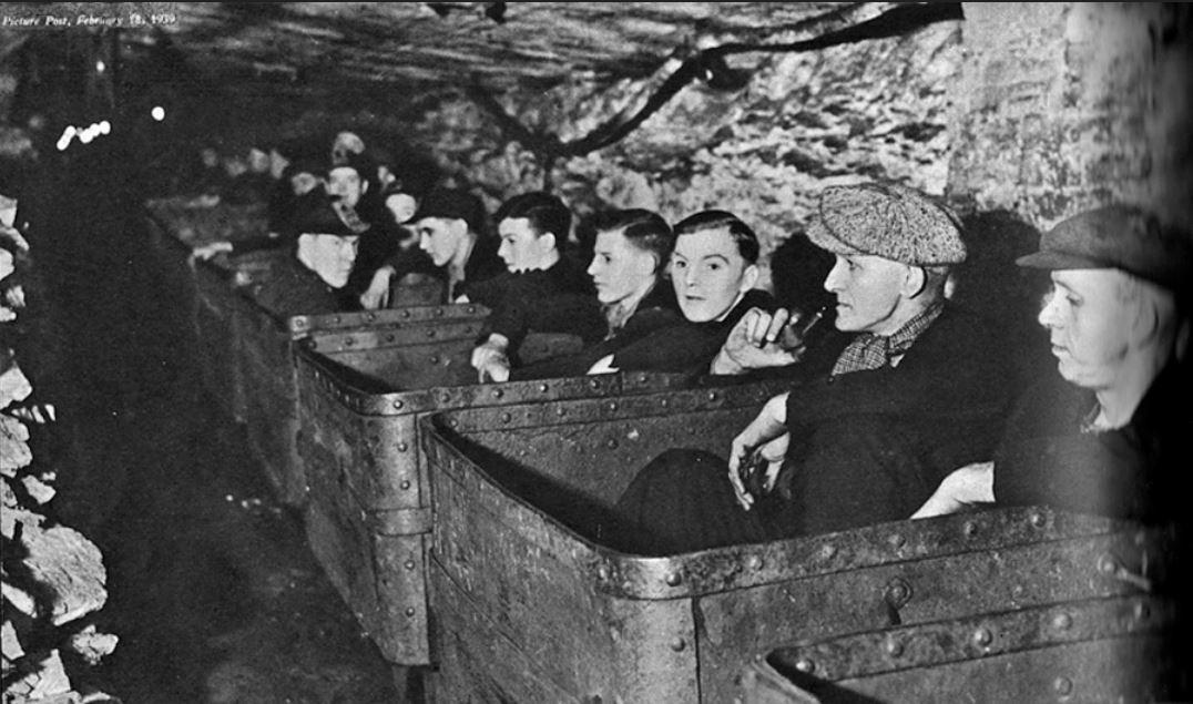 coal miners 1939