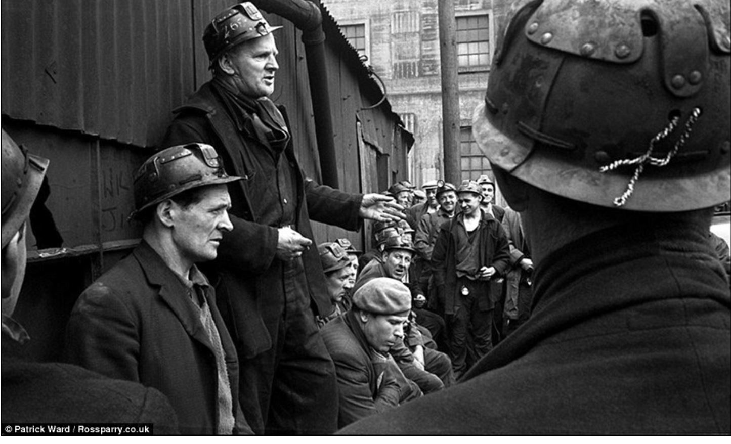 coal miners  union meeting 1960