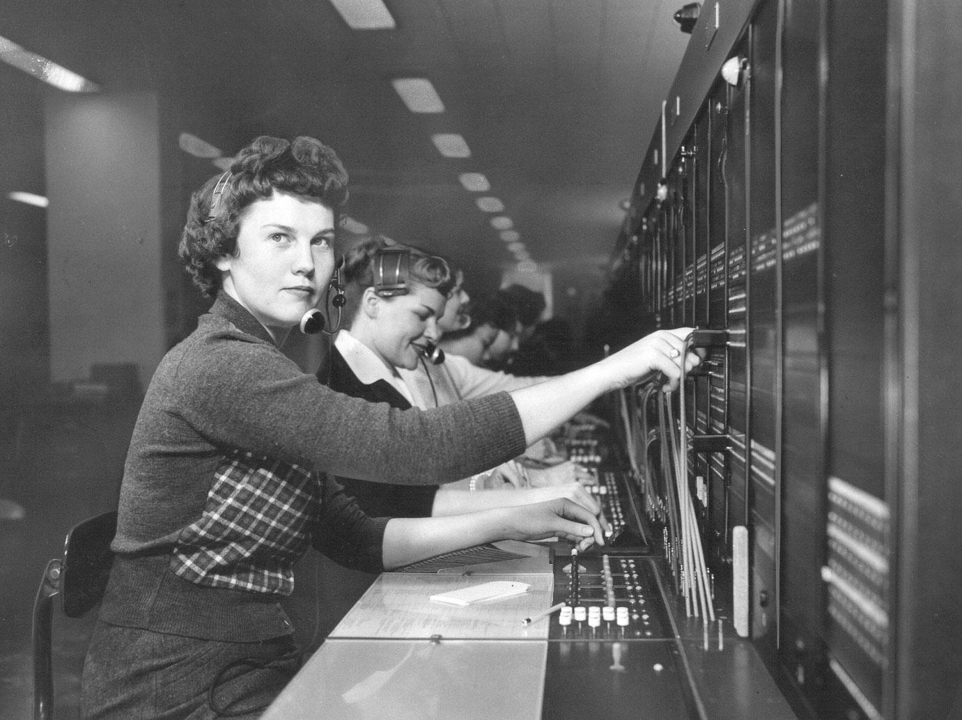 long distance operators 1959