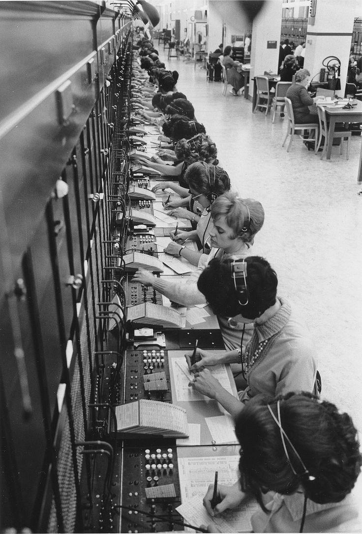 switchcenter operators 1964