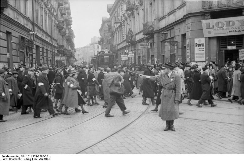 Polen, Ghetto Warschau, Ghettopolizist