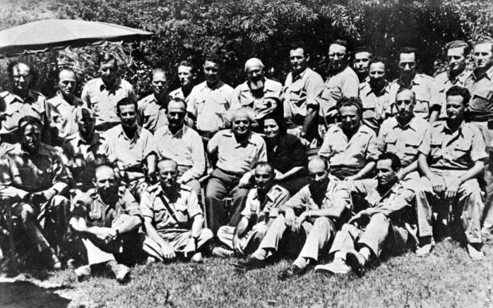 ben gurion and generals 2 1948