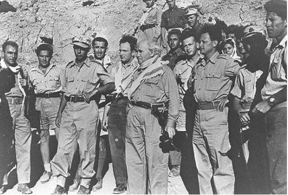 ben gurion in south 1948