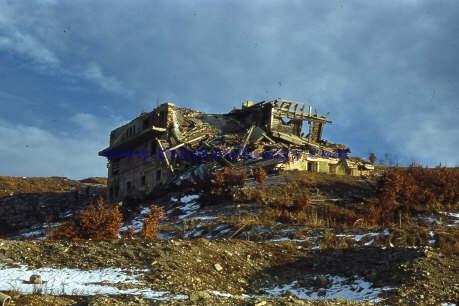 the ruins of Bormann's house