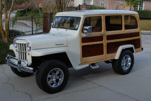 1961 Willys Jeep Station Wagon.