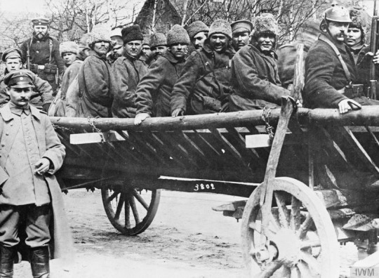 As a result of the fighting in Poland, three quarters of a million Russian soldiers were captured and sent to prisoner-of-war camps.