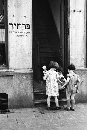 Jewish Quarter, Antwerp, 1937,