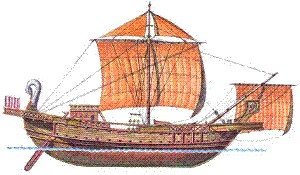 Roman Trade Ship