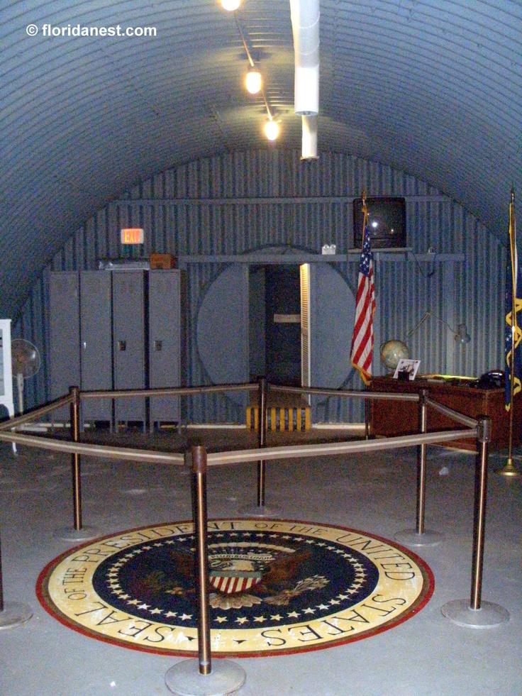 The President John F. Kennedy Atomic Bomb Shelter  florida