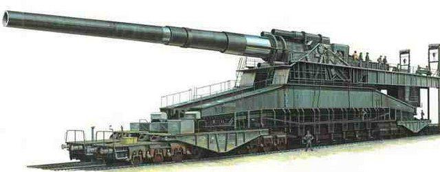 add railway gun ww2