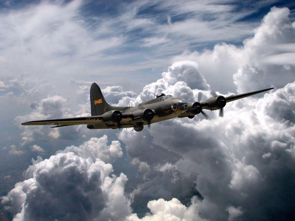 b-17 sky