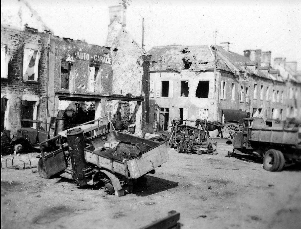candian forces taken france 1944