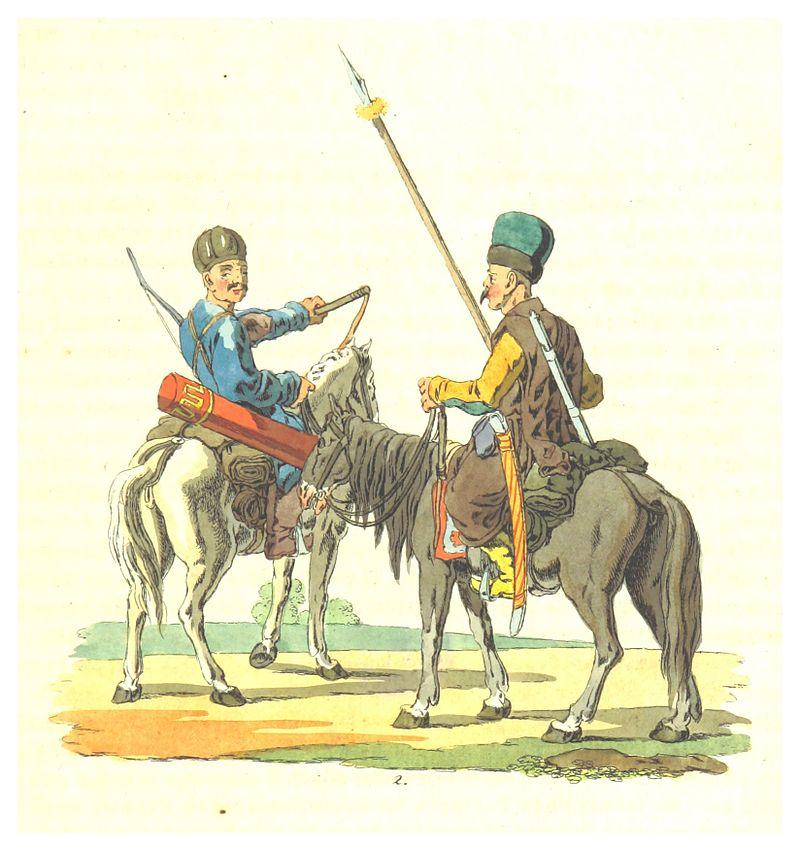 BERGK(1809)_p15_TATAREN_(re._von_der_Krim,_li._Nogaische)