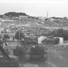 tanks in jerusalem  1967