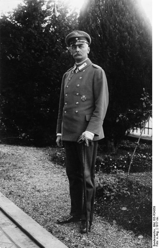 General der Infanterie von Falkenhayn. 207-17