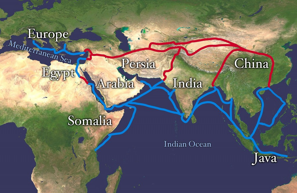 Silk_route map