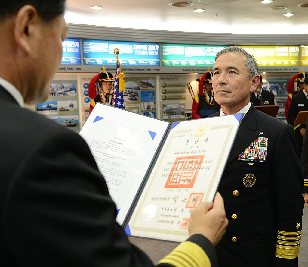 Adm._Harris_Receives_Tong-Il_Medal