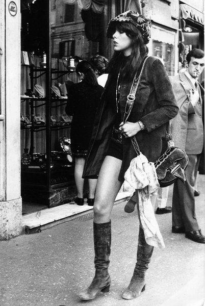 Girl watching, London