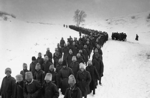 Romanian Army POWs from Battle of Stalingrad, February 3, 1943.
