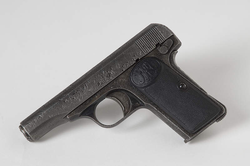 The gun that killed 20 million people, pistol used by Gavrilo Princip to assassinate Franz Ferdinand