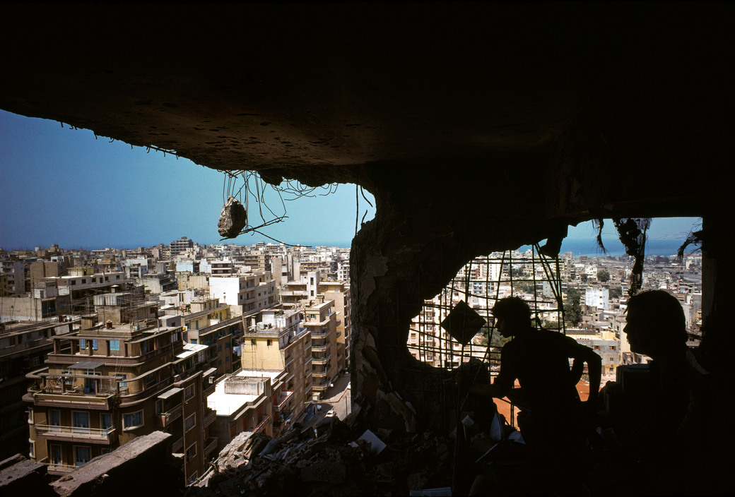 Beirut. Snipers.