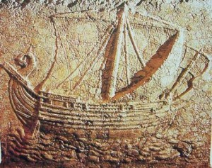 Civiltà Nuragica shardana ship