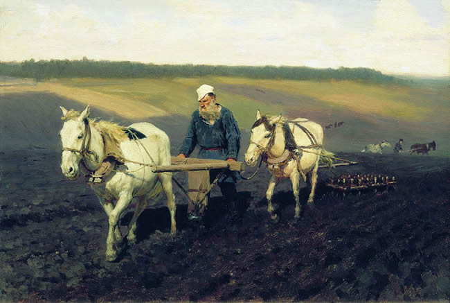 tolstoy-ploughing