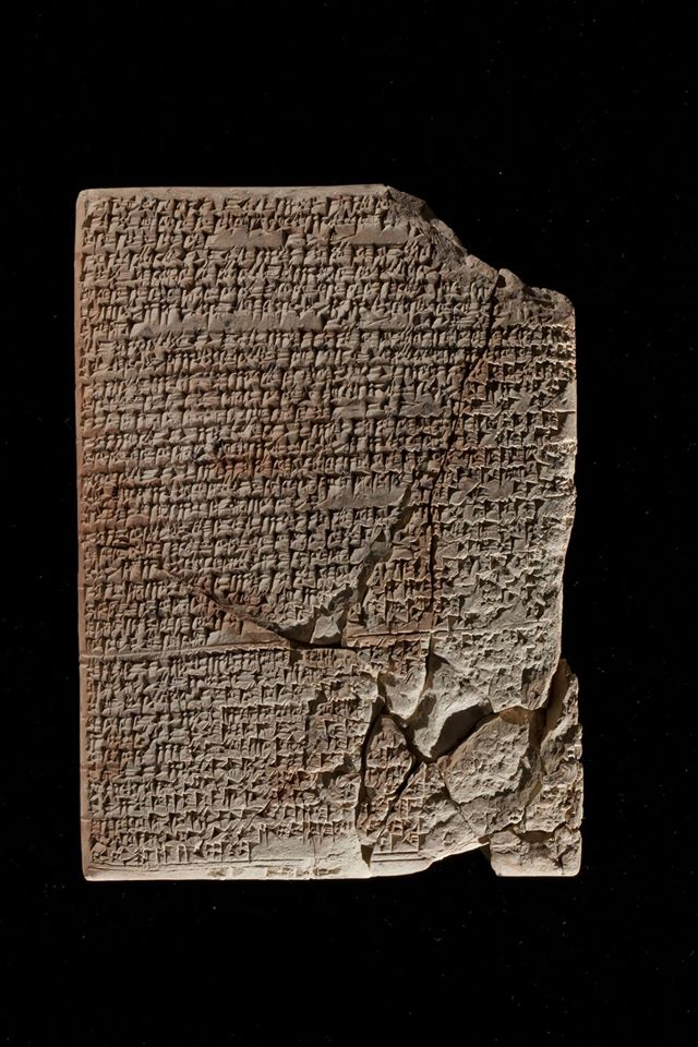 Babylonian tablets dating to ca. 1800 B.C 1